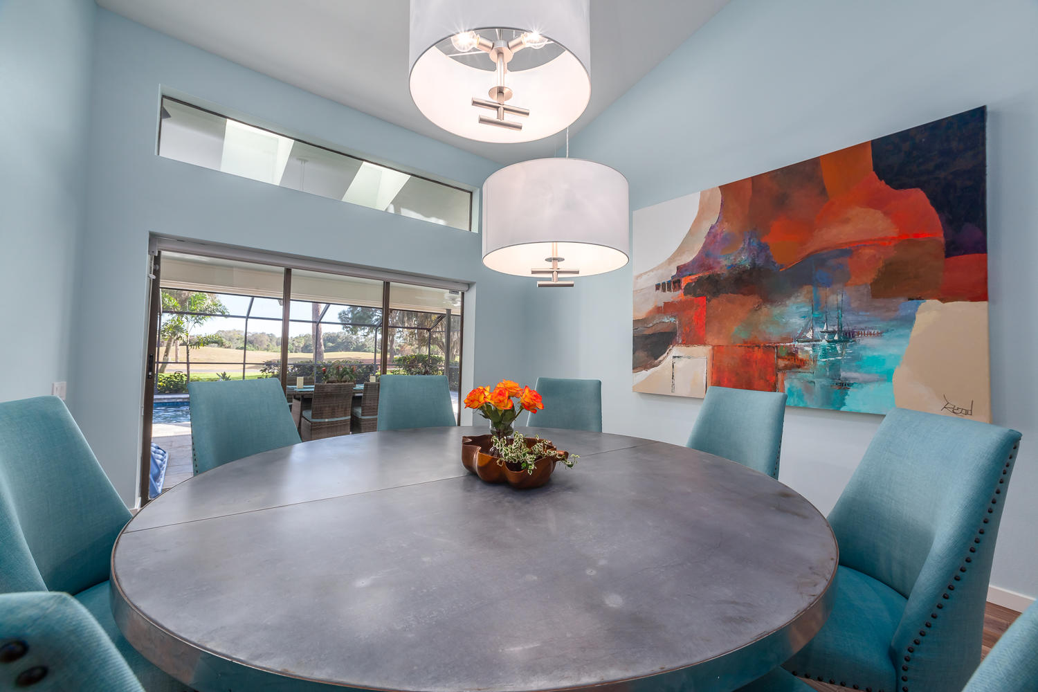 DINING ROOM_INTERIOR DESIGN_SARASOTA COUNTRY CLUB_AFTER