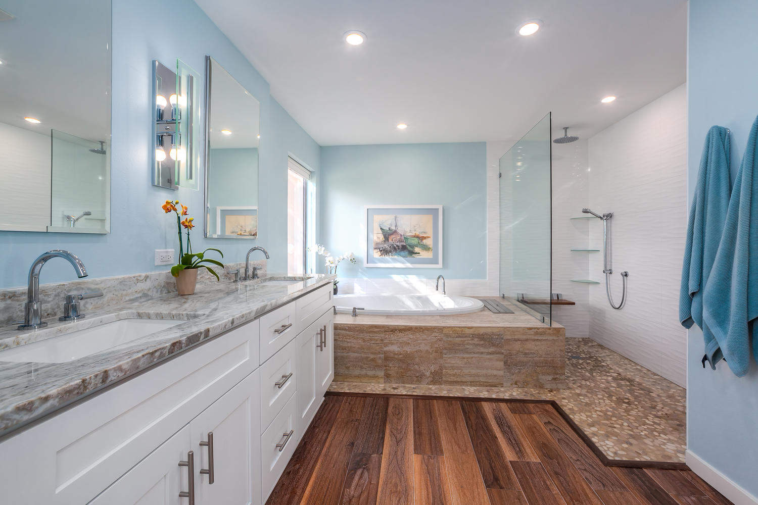 MASTER BATHROOM_INTERIOR DESIGN_SARASOTA COUNTRY CLUB_AFTER